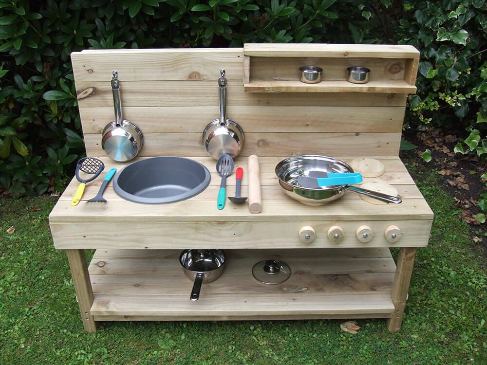 Handmade Wooden Mud Kitchen Free Uk Delivery