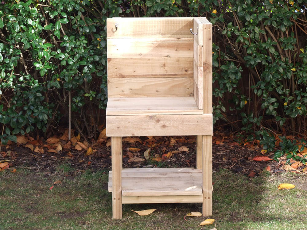 Wooden Mud Kitchen Corner Unit