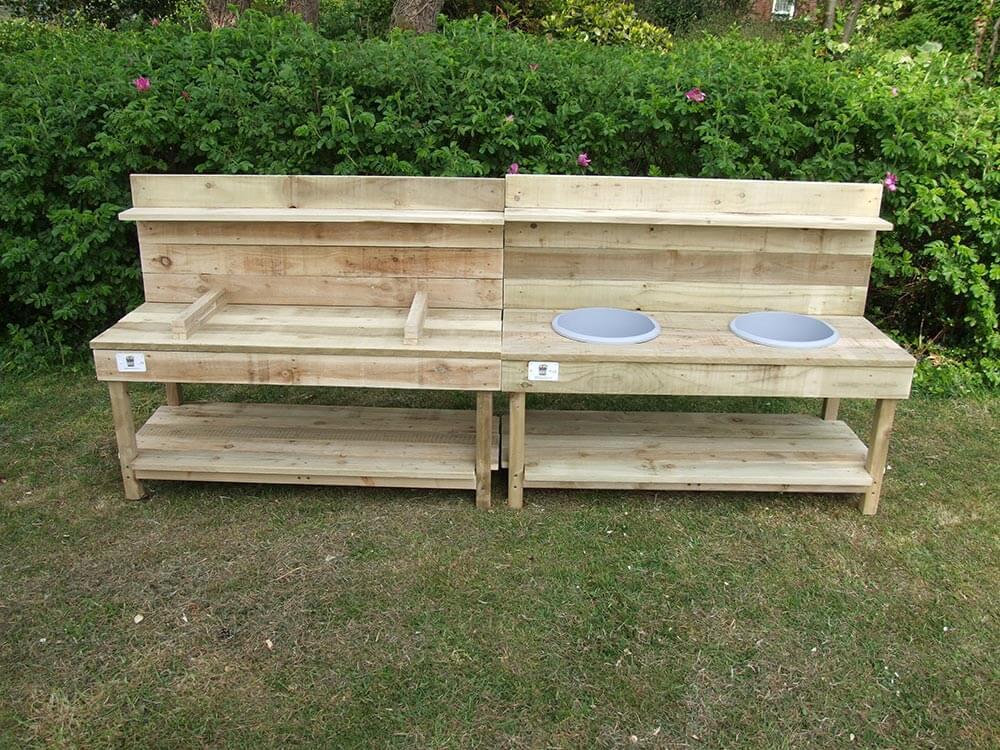Handmade Wooden Childs Sand Pit