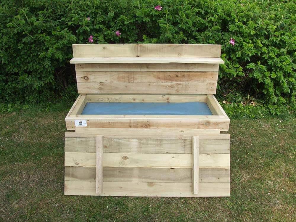 Handmade Wooden Sand Pit