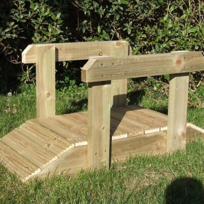 Handmade Wooden Toddler Bridge